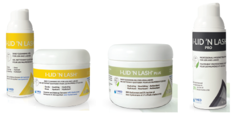 I-Lid 'N Lash wipes